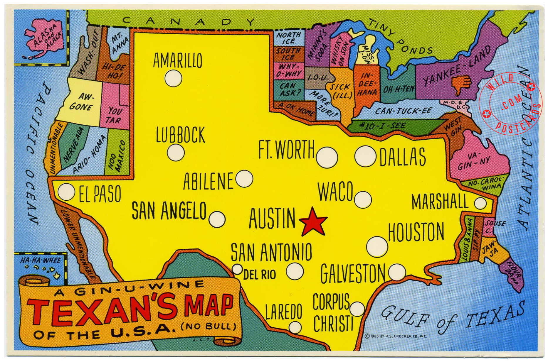 Amazing Map Of Interesting Things In The Us Pictures - Printable Map ...